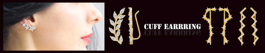 Cuff And Climbers Earring