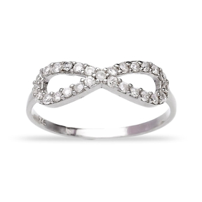 Turkish Wholesale Handcrafted Infinite Silver Ring