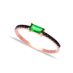 Wholesale Handcrafted Silver Micro Pave Ring