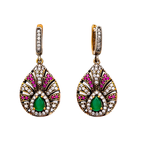 Authentic Silver Earring In Turkish Wholesale Sterling Silver Jewelry