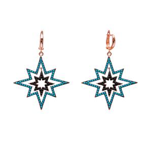 Dangle Earrings Turkish Wholesale Handmade Sterling Silver Earring