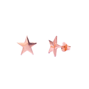 Star Design Stud Earring Wholesale Sterling Silver Handcrafted Silver Earring