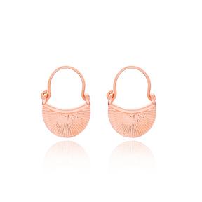 Bag Design Turkish 925 Silver Sterling Boho Design Earring