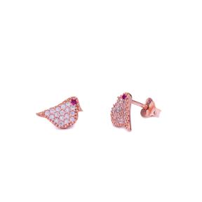 Bird Stud Earring Wholesale Handcrafted Sterling Silver Earring