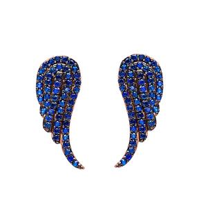 Ear Cuff Wing Earring Turkish Wholesale Sterling Silver Earring