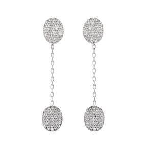 Long Dangle Turkish Wholesale Sterling Silver Ear Cuff Earring