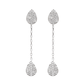 Long Dangle Turkish Wholesale Sterling Silver Ear Cuff Earring