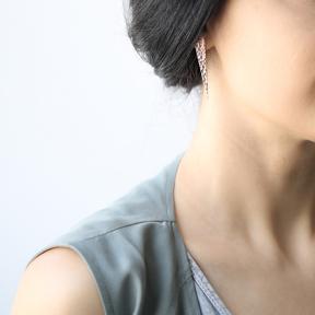 Geometric Hammered Earrings Turkish Wholesale Sterling Silver Earring