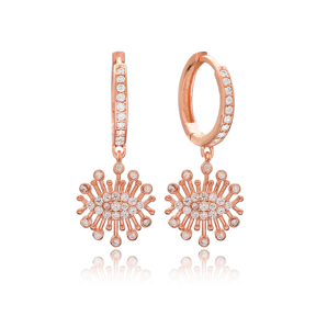 Unique New Design Charm Turkish Wholesale Handmade 925 Sterling Silver Earrings
