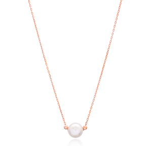 Pearl Silver Necklace Turkish Wholesale Sterling Silver Jewelry