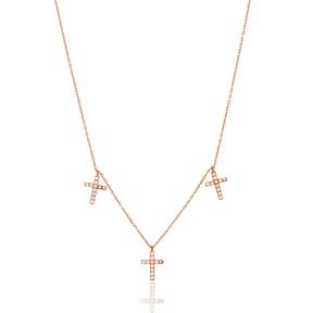 Silver Cross Design Pendant Wholesale 925 Sterling Silver Jewelry