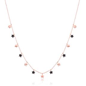 Minimalist Star Design Turkish Wholesale Handcrafted 925 Silver Necklace