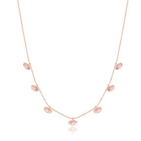 Eye Shape Necklace Wholesale Handmade 925 Silver Sterling Jewelry