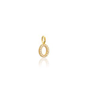 Oval Shape Charm Wholesale Handmade Turkish 925 Silver Sterling Jewelry With Hole Ø5 mm