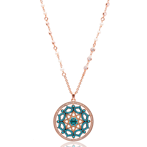 Traditional Turkish Handcrafted Wholesale  925k  Sterling Silver  Pendant
