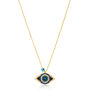 Evil Eye Necklace Wholesale Handmade 925 Silver Sterling Jewelry