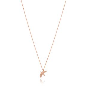 Elegant Swallow Pendant Turkish Wholesale Sterling Silver Jewelry