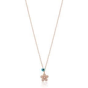 Snowflake Charm Pendant Wholesale Handmade Turkish 925 Silver Sterling Jewelry