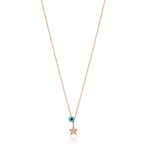 Star Charm Pendant Wholesale Handmade Turkish 925 Silver Sterling Jewelry