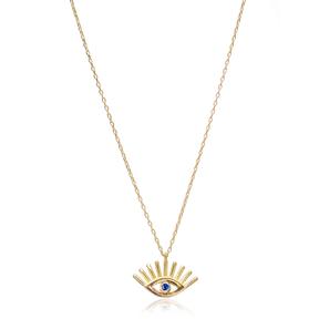 Evil Eyes Design In Turkish Wholesale 925 Sterling Silver Pendant
