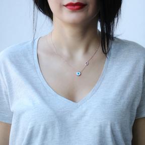 Evil Eye Turkish Wholesale Sterling Silver Jewelry Pendant