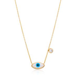 Evil Eye Design Turkish Wholesale Sterling Silver Jewelry Pendant