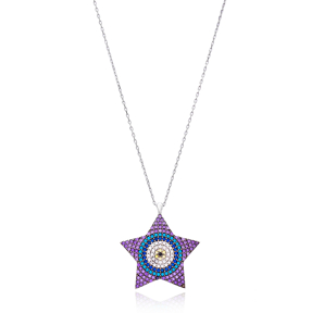Star Design Silver Pendant Wholesale Sterling Silver Jewelry