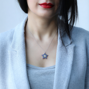 Star Design Pendant Wholesale Sterling Silver Turkish Jewelry