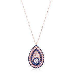 Pear Shape Silver Pendant Wholesale Sterling Silver Jewelry