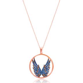 Silver Angel Wings Pendant Wholesale Sterling Silver Turkish Jewelry