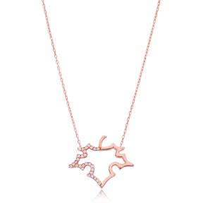 Grape Leaf Design Pendant Turkish Wholesale Sterling Silver Jewelry Pendant