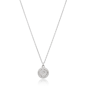 Trendy Clover Design Turkish Wholesale 925 Sterling Silver Jewelry Pendant