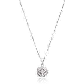Trendy Triangle Design Turkish Wholesale 925 Sterling Silver Jewelry Pendant