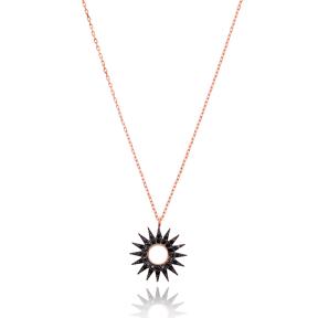 Sun Design Turkish Handmade Wholesale 925 Sterling Silver Jewelry Pendant