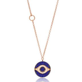 Eye Pendant Turkish Wholesale Sterling Silver Jewelry
