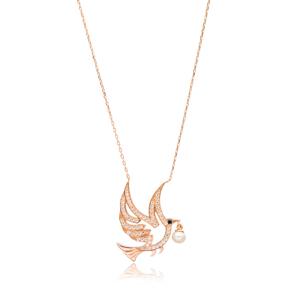 Bird DesignTurkish Wholesale Sterling Silver Pendant