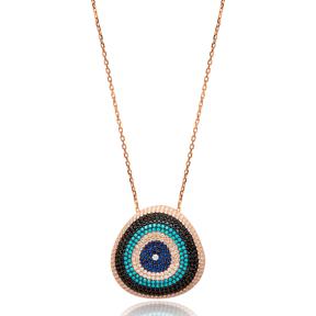 Round Shape Pendant Turkish Wholesale Sterling Silver Jewelry