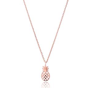 Pineapple Design Pendant, Wholesale Handmade Turkish Sterling Silver Pendant