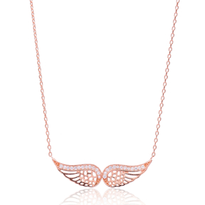 Wings Design Silver Pendant Turkish Wholesale Sterling Silver Jewelry Pendant