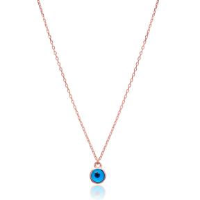 Evil Eye Design Pendant, Wholesale Handmade Turkish Sterling Silver Pendant