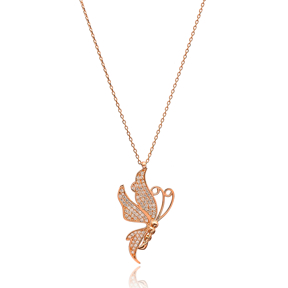 Fairy Minimal Design Pendant In Turkish Wholesale 925 Sterling Silver