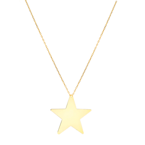 Plain Star Pendant None Stone Plain Pendant Wholesale 925 Silver Sterling Pendants