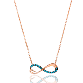 Silver Infinity Pendant Turkish Wholesale Sterling Silver Jewelry