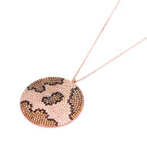 Leopard Pendant Turkish Wholesale Sterling Silver Jewelry