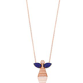 Dalicate Angel Pendant Turkish Wholesale Sterling Silver Jewelry