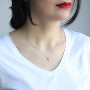 Minimal Grape Leaf Pendant In Turkish Wholesale Sterling Silver Jewelry