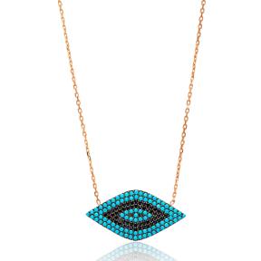 Evil Eye Turkish Wholesale Sterling Silver Pendant