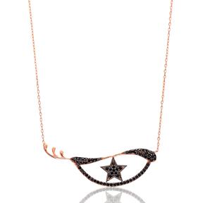 Eye Star Silver Pendant Turkish Wholesale Sterling Silver Jewelry