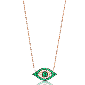 Evil Eye Pendant Turkish Wholesale Sterling Silver Jewelry