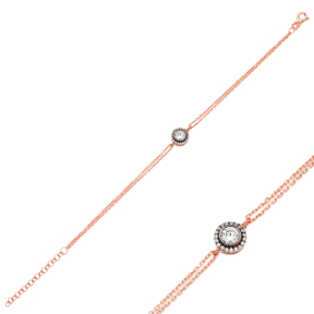 Elegant Design Wholesale 925 Sterling Silver Bracelet